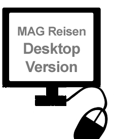 MAG Reisen in der Desktop Version