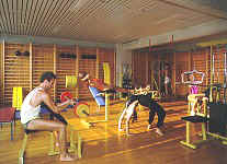 Fitness im Hotel Soline